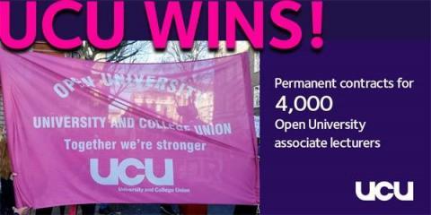 UCU news - AL new contract